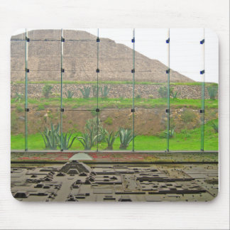 Teotihuacan - Sun Pyramid and Museum Mouse Pad