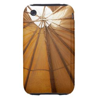 Tepee interior iPhone 3 tough covers