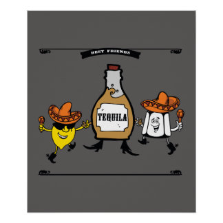 Tequila Best Friends Forever Poster