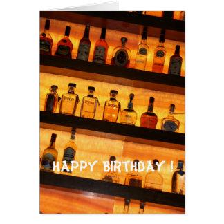 Tequila Birthday Card