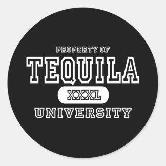 Tequila Dark Classic Round Sticker