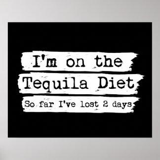 Tequila Diet Poster