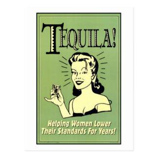 Tequila - femmes de aide plus bas leurs normes pou cartes postales