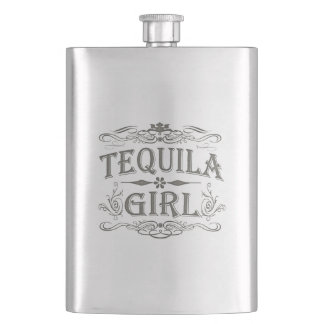 Tequila Girl Flasks