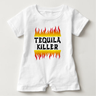 tequila killer baby romper
