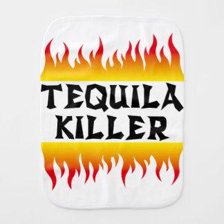 tequila killer burp cloth