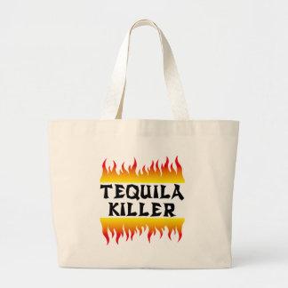 tequila killer large tote bag
