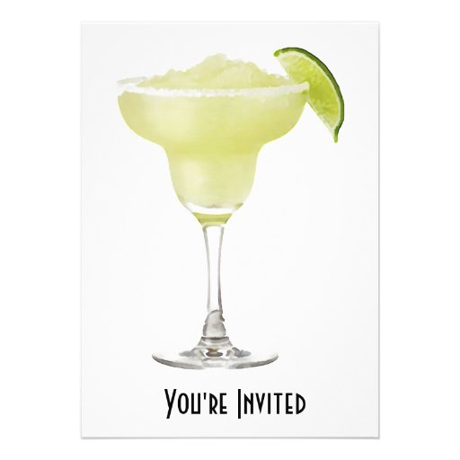Tequila Lime Slushie Custom Announcements