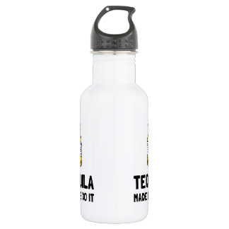 Tequila Made Me Do It 532 Ml Water Bottle