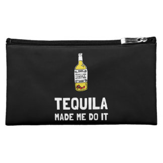 Tequila Made Me Do It Cosmetic Bag
