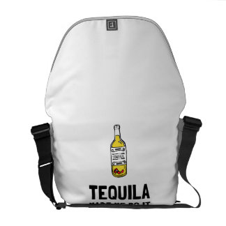 Tequila Made Me Do It Courier Bag