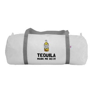Tequila Made Me Do It Gym Bag