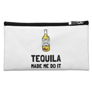 Tequila Made Me Do It Makeup Bag