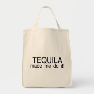 Tequila Made Me Do It Tote Bag
