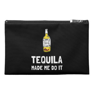 Tequila Made Me Do It Travel Accessory Bag