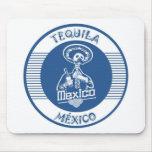 TEQUILA MÉXICO BLUE MOUSE PAD