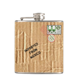Tequila Package Flask