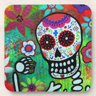 Tequila Shot Day of the Dead Coasters