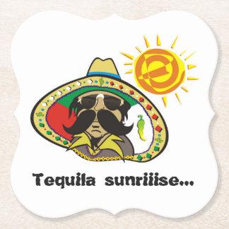Tequila Sunriiise… Paper Coaster