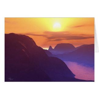 TEQUILA SUNRISE 2020 CARD