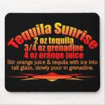 Tequila Sunrise mousepad