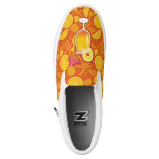 Tequila Sunrise Slip-On Sneakers
