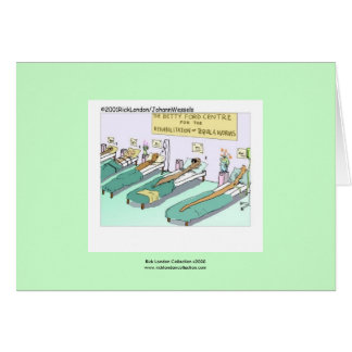 Tequila Worm Rehab Greeting Card