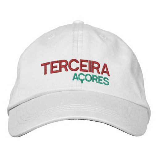 Terceira Azores Hat Embroidered Hat