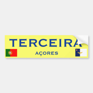Terceira* Bumper Sticker