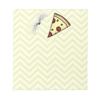 """Terence """"Pizza Time"""" Note Pad"""