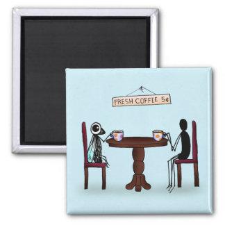 """Terence & Tootles """"Coffee Break"""" Magnet"""