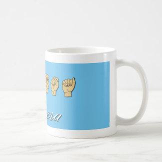 Teresa ASL mug
