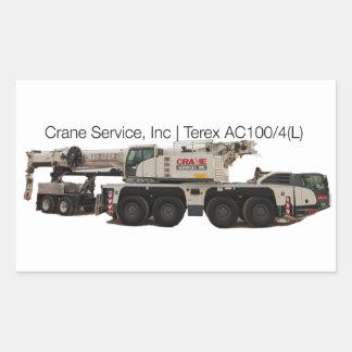 Terex AC100-4L Sticker