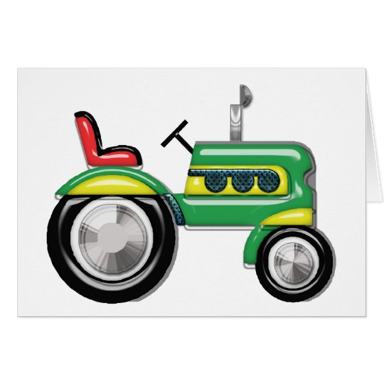 Teriffic Tractor Card