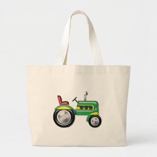 Teriffic Tractor Large Tote Bag