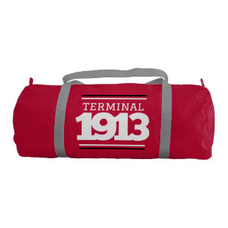 Terminal 1913 Red Gym Bag