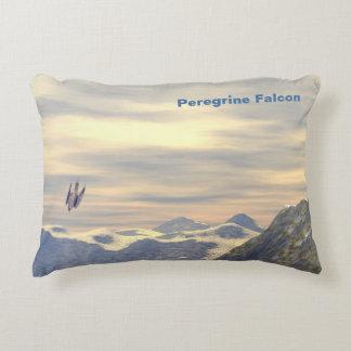 Terminal Velocity Peregrine Falcon Accent Pillow