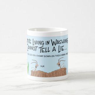 Termite that can not lie coffee mug