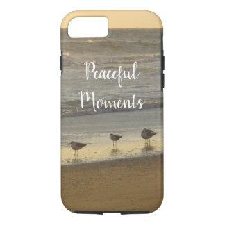 Tern Gulls Birds Beach Ocean Sunrise Personalize iPhone 8/7 Case
