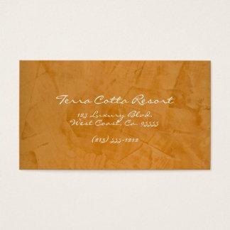 Terra Cotta Resort Business Card
