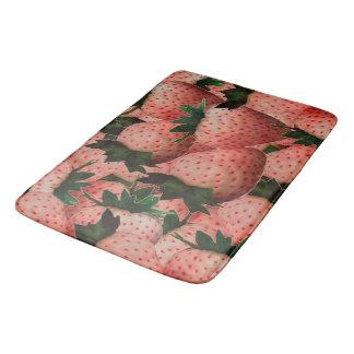 Terra Cotta Strawberries Bath Mat