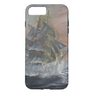 Terra Nova heads into a fierce Gale Dawn iPhone 7 Plus Case