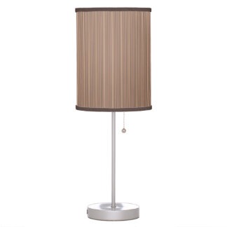 Terrace Brown Stripe Lamp