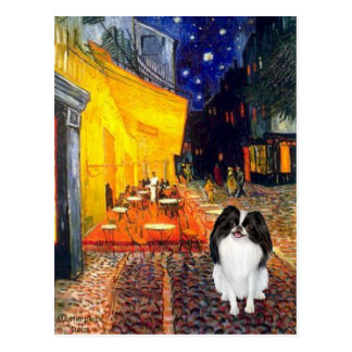 Terrace Cafe - Japanese Chin 3 Postcard