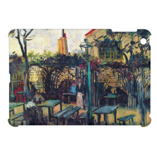 Terrace Cafe on Montmartre Vincent Van Gogh iPad Mini Case