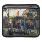 Terrace  Cafe on Montmartre Vincent Van Gogh iPad Sleeve
