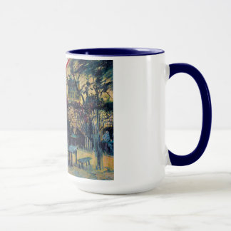 Terrace  Cafe on Montmartre Vincent Van Gogh Mug