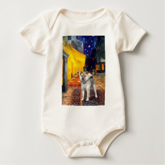 Terrace Cafe - Shiba Inu Baby Bodysuit