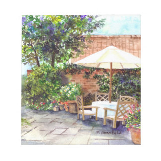 Terrace of The Manor House, York Notepad