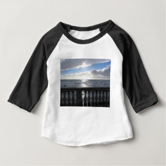 Terrace overlooking the sea baby T-Shirt